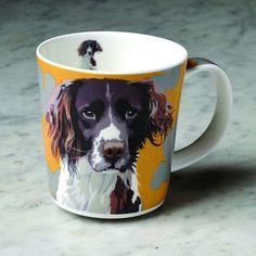 Leslie Gerry Mug Springer Spaniel Dog for sale Gifts For Pet Lovers, Pet Gifts, Gifts For Him, Dog Lovers, Christmas Gift Themes, Spaniel Dog, Spaniels, Animal Antics, Dog Blanket