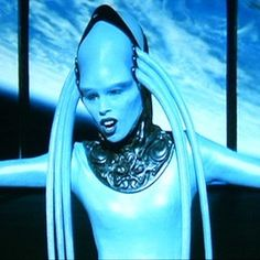 Diva Plavalaguna / The Fifth Element This was my favourite character throughout the whole thing.