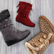 Take a look at the Lucky Top event on zulily.com! They have really cute boots for like 12.99!