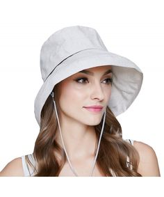 fd0ef597 Women's Floppy Foldable UPF 50+ Hat-Summer Sun Beach-Wide Brim Cap Off-White  CL182H8ULW6