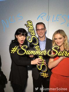"""""""Exclusive red carpet photo from our annual Summer Soiree."""""""