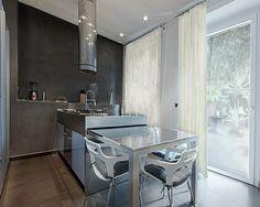 50 einrichtungsideen fr kleine esszimmer esszimmer esstisch sthle grau glanzvoll - Essplatz Fr Kleine Kchen Modern