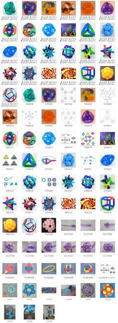 풍선아트+풍선장식+풍선하하+balloonhaha+교육용+196+기법+입체.jpg (584×1600)