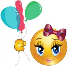 Don't pop the balloons Copy Send Share Send in a message, share on a timeline or copy and paste in your comments. Smileys, Big Emoji, Smiley Emoji, Minions, Emoticon Faces, Gifs, Animated Dragon, Beautiful Gif, Smile Face