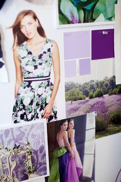 What inspires us? Florals, purple hues and soft fabrics.