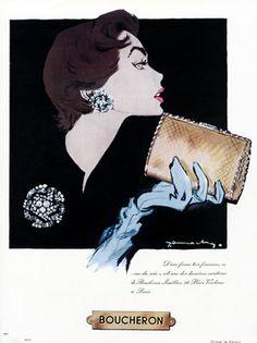 Boucheron Jewelry, 1953 http://www.bijouxmrm.com/ https://www.facebook.com/marc.rm.161 https://www.facebook.com/Bijoux-MRM-388443807902387/ https://www.facebook.com/La-Taillerie-du-Corail-1278607718822575/ https://fr.pinterest.com/bijouxmrm/