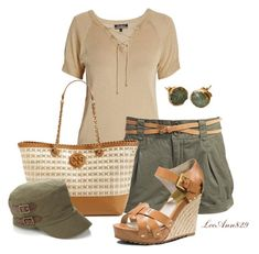 """""""military hat"""" by leeann829 ❤ liked on Polyvore featuring Morgan, Vero Moda, MICHAEL Michael Kors, Tory Burch and DwellStudio"""