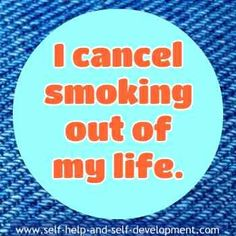 Stop Smoking Selfhypnosis Affirmations to Assist You to Quit Smoking