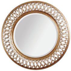 Bassett Mirror Alissa Wall Mirror 6357-711EC