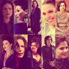 OUAT- Regina Mills I believe in the queen.