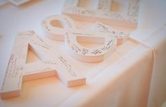 DIY wedding guest book ideas2