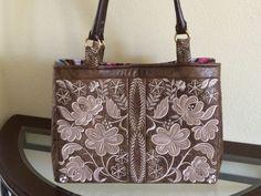 Anita Goodesign Tote Bag Using The Rhapsody Design