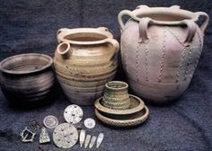 Regia Anglorum - Anglo-Saxon and Viking Crafts - Pottery Ancient Vikings, Ancient Aliens, Historical Artifacts, Ancient Artifacts, Anglo Saxon History, European History, American History, Ancient History, Ottonian