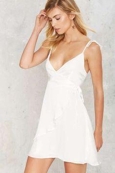 WYLDR Half Moon Wrap Dress
