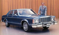 Despite being President Obama's first car nothing can save the cool of the American 70's Ford Granada. Horrible to look at and drive.