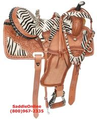 Don't let Logan see this! western horse tack