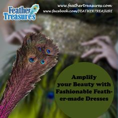 Amplify your Beauty with Fashionable #Feather-made Dresses http://www.feathertreasures.com/blogs/news/16732360-amplify-your-beauty-with-fashionable-feather-made-dresses