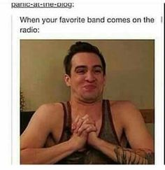 Brendon Urie, meme, drunk history of Fall Out Boy