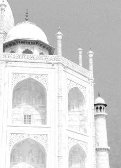 Its majesty, the Taj Mahol