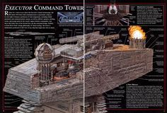 Executor Command Tower - Star Wars