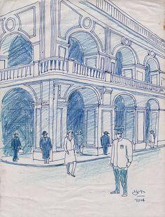 Calle victoria - Autor: María Elena Di Tullio