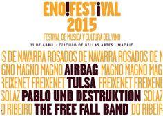 Primeros confirmados para la cuarta edición del enoFestival, el Festival de música y Cultura del Vino https://www.vinetur.com/2015020518093/primeros-confirmados-para-la-cuarta-edicion-del-enofestival-el-festival-de-musica-y-cultura-del-vino.html