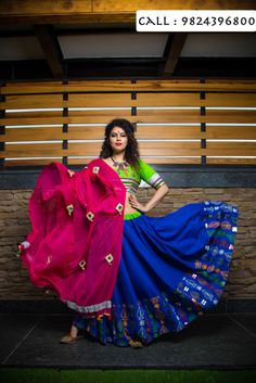 Beautiful Chaniya Cholis under Rs 3900 by YOUNG TRUKK Bollywood Lehenga, Bollywood Fashion, Sabyasachi Lehengas, Indian Attire, Indian Wear, Indian Dresses, Indian Outfits, Dandiya Dress, Garba Dress