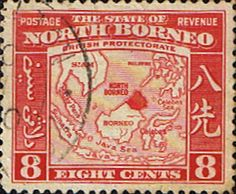 North Borneo 1939 British Protectorate Fine Used SG 308 Scott 198 Other Malayan Stamps HERE