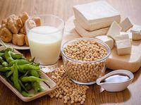 soy bean tofu and other soy products Tofu, Tempeh, Seitan, Salud Natural, Soy Products, Soy Protein, Food Out, Protein Sources, Base Foods