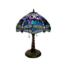 3873f4f24e60 Tiffany Style Dragonfly Lamp (Lamp Only)