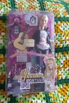 Disney Hanna Montana Doll Never Removed From Package. $23.00 plus $8.00 shipping Never removed from box. Any questions just ask.