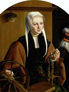 Maarten van Heemskerck [Dutch Northern Renaissance Painter, 1498-1574] Portrait of a Woman 1529 oil on oak panel Height: 86.6 cm (34.1 ...
