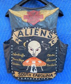 Aliens Motorcycle Gang Vest