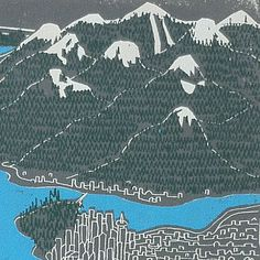 Vancouver by breeree on Etsy, $40.00