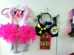 Never Surrender's 'Bras For a Cause' features colorfully decorated bras which…
