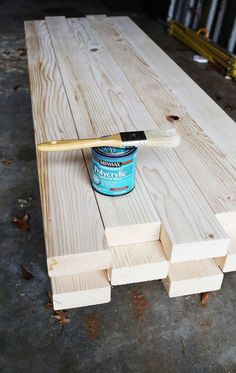How To: Make A 2x4 Wooden Coffee Table