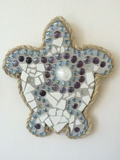 Beautiful mosaic turtle handcrafted by adults with intellectual and developmental disabilities.