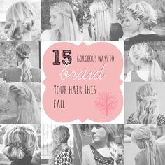 15 gorgeous ways to braid your hair this fall