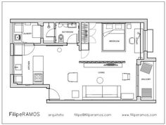 The 1st floor of my dream house... jiaaaa..... Filipe's Perfect Balance Small Cool Contest | Apartment Therapy