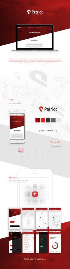 """Podívejte se na můj projekt @Behance: """"GSM application concept""""…"""