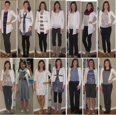 Styling a white cardigan - ideas on what to wear with white cardigan I got for Christmas White Cardigan Outfit, Long White Cardigan, Cardigan Outfits, Yellow Cardigan, Corporate Outfits, Business Casual Outfits, Blue And White Outfits, Blue Mom Jeans, Warm Outfits
