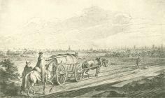 Chodowiecki, Der Blick auf Langfuhr und Danzig (Danziger Skizzen, 1773).