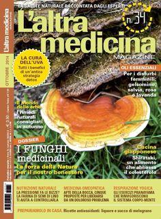 #GanodermaLucidum in copertina su L'altra Medicina. Maggiori info sul blog http://ganoderma-salute.com