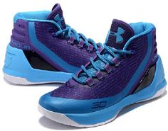 huge selection of 070d5 6858f Under Armour UA Curry 3 Mens Basketball Shoes Sapphire blue purp2 Cheap Nike  Air Max,