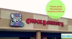 Cupones de descuento, fichas gratis y ahorros para visitar Chuck E. Cheese's @Chuck E. Cheese
