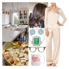 """Getting up early Christmas morning & making Eggnog Bread Pudding for the family"" by pompcircumstance ❤ liked on Polyvore featuring Cartier, Tiffany & Co., BERRICLE, Chaumet, Tom Ford and La Perla Studio"