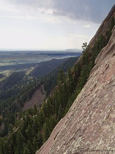 1st Flatiron. The Flatirons. Boulder, Colorado