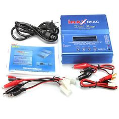 Digital Charger/Discharger 80W iMAX B6-AC B6AC Lipo NiMH 3S RC Battery Balance