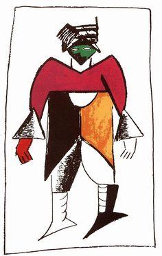 New man - Kazimir Malevich
