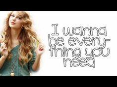 Beautiful Eyes - Taylor Swift - Lyrics